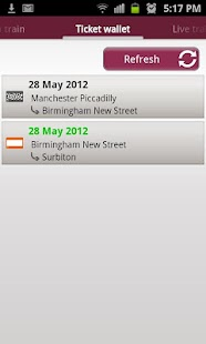 Train Tickets - screenshot thumbnail