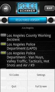 Police Scanner Radio PRO- screenshot thumbnail