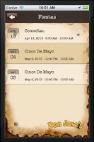 Screenshot of Don Jose's