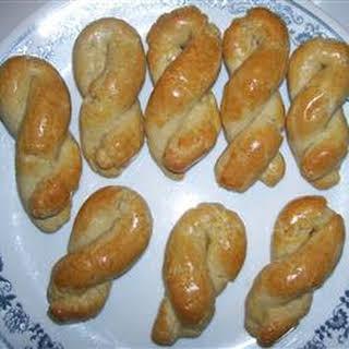 Greek Egg Biscuits.