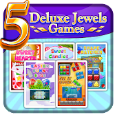5 Deluxe Jewels Games Premium