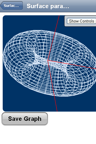 3D Functions Grapher - screenshot