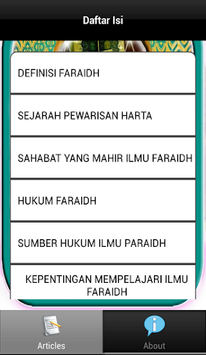 玩書籍App|Pembagian Warisan-Ilmu Faraidh免費|APP試玩