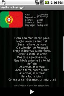 National Anthem Portugal- screenshot thumbnail