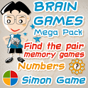Memory Games Mega Pack HD Free icon