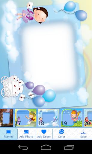 玩攝影App|兒童照片幀免費|APP試玩