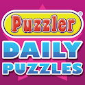 PUZZLER DAILY PUZZLES logo