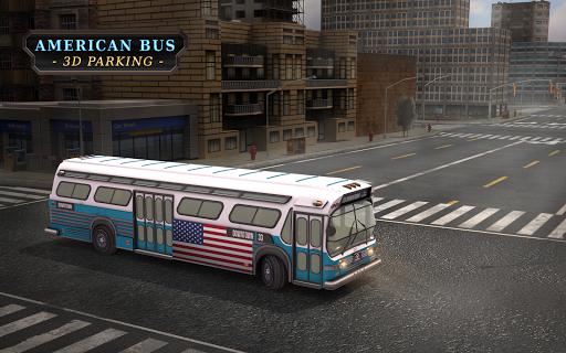 美国巴士停车场