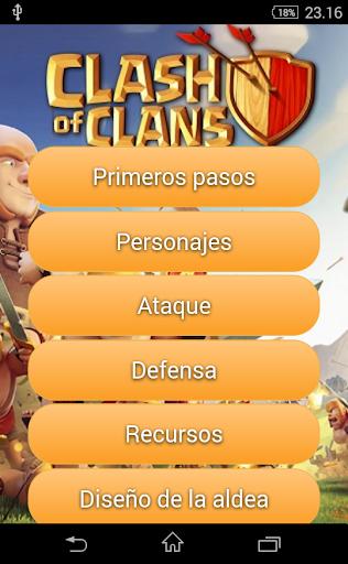 Guía para Clash of Clans esp