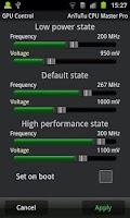 Screenshot of AnTuTu CPU Master Pro
