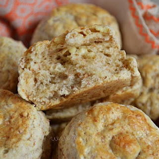 Cotija Cheese Biscuits.