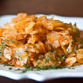 Stewed Cabbage Recipe