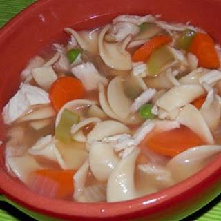 Swanson® Sensational Chicken Noodle Soup.