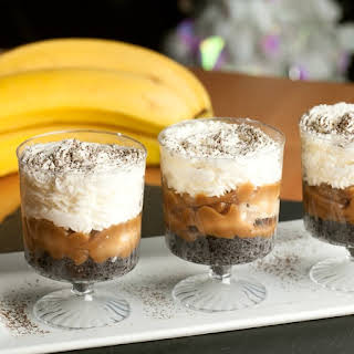 Mini Banana Dessert Shots.