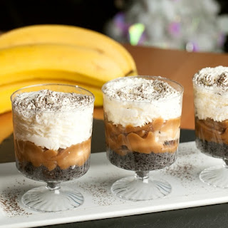 Mini Banana Dessert Shots.
