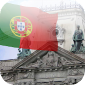 3D Portugal Flag Wallpaper