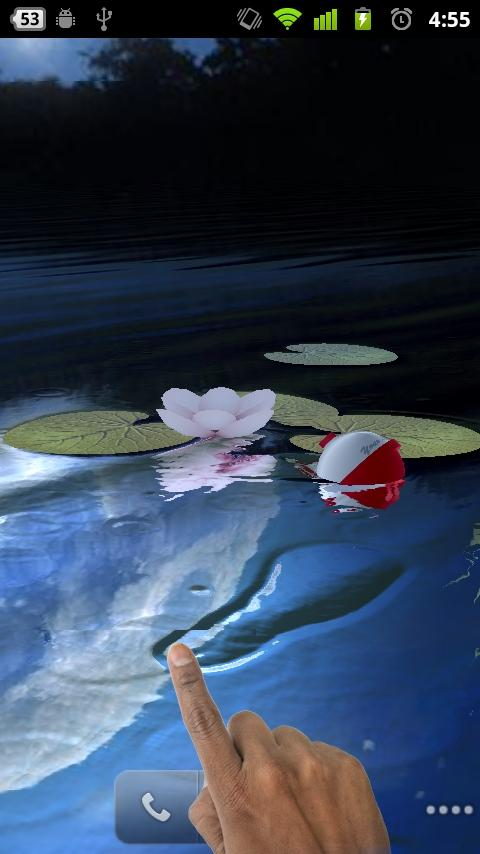 Fishing float live wallpaper l android apps on google play for Fishing for floaters game