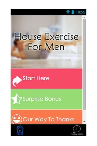 House Exercise For Men