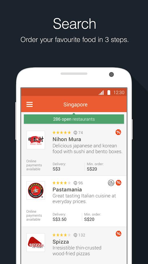 foodpanda Order Food Delivery - screenshot