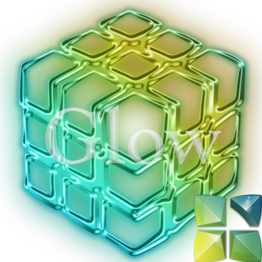 Next Launcher 3D Theme Glow 個人化 App LOGO-APP試玩