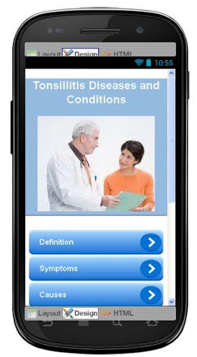 Tonsillitis Disease Symptoms