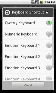 Text Emotion Keyboard - screenshot thumbnail