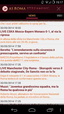 As Roma Streaming - screenshot