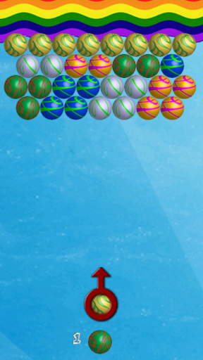 Coloring Bubbles Shooter Game