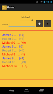 Whizz Score Tracker - screenshot thumbnail