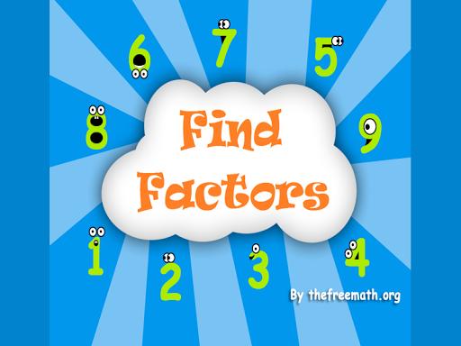 Find Factors