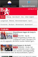Screenshot of Kranten NL  (Nederland nieuws)