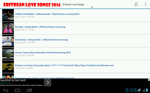 Eritrean Love Songs