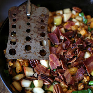 Apple, Pecan & Bacon Butternut Squash Hash(Gaps/Paleo/Vegan options)