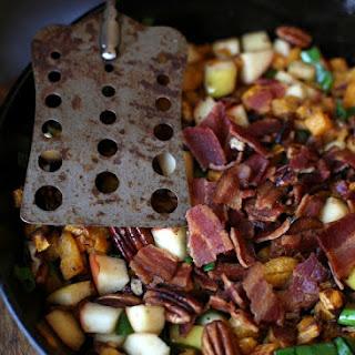 Apple, Pecan & Bacon Butternut Squash Hash(Gaps/Paleo/Vegan options)