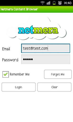 Netmera Dashboard