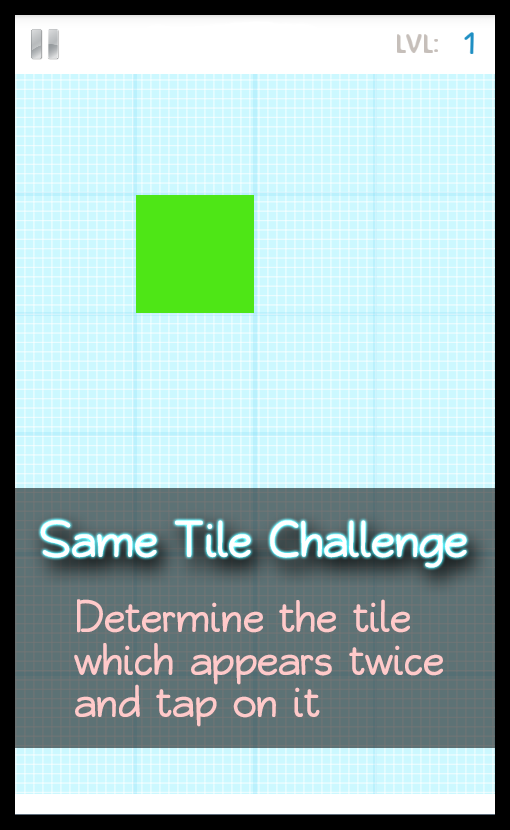 Tap the Red Tiles - screenshot