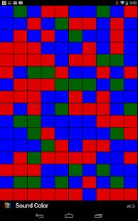 Sound Color Music Visualizer - náhled