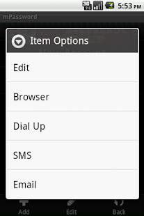 mPassword - Free- screenshot thumbnail