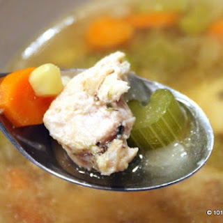 Healthy Crock Pot Chicken Vegetable Soup