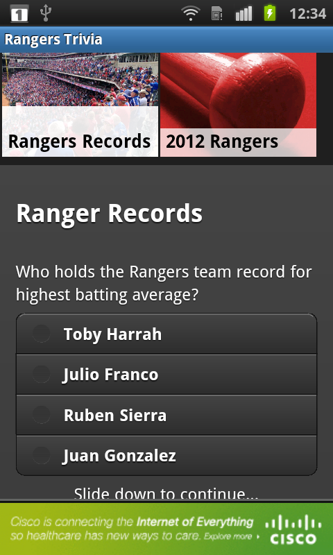 Baseball Texas - Rangers News - screenshot