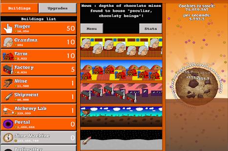 Cookie Tap- screenshot thumbnail