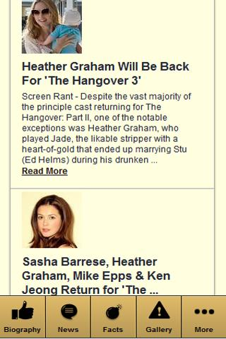 HEATHER GRAHAM COMMITTED - screenshot