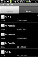 Screenshot of Group SMS Pro & Scheduler