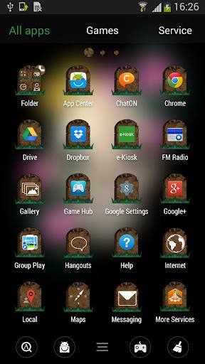 GOランチャースカルのテーマ|玩娛樂App免費|玩APPs
