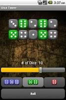 Screenshot of Dice Tower