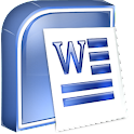 Microsoft Word 2010 course logo