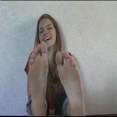 Tickle Feet Abby