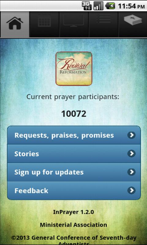 InPrayer 1.2.0- screenshot
