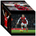 Arsenal 3D Cube Wallpaper icon
