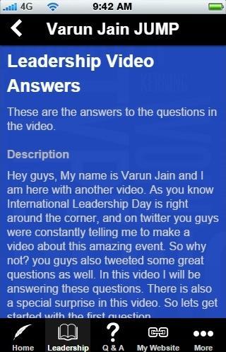 Varun Jain JUMP